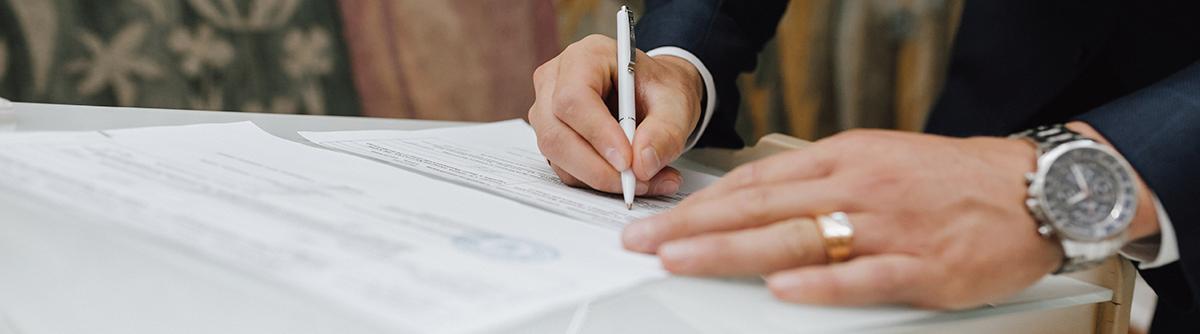 Trámites y documentos para realizar una boda civil